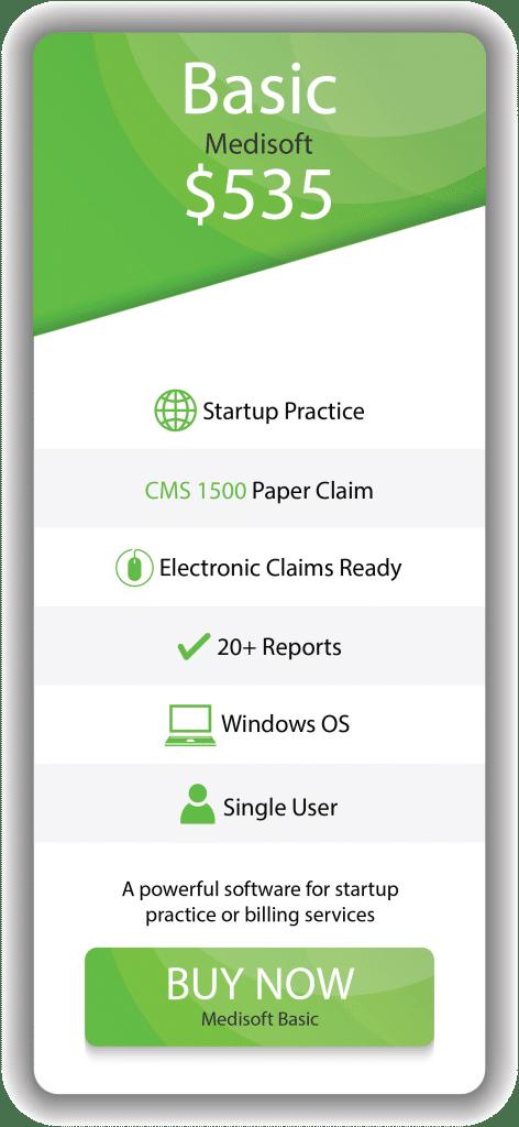 Medisoft Basic Features